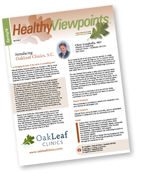 Healhty Viewpoints newsletter